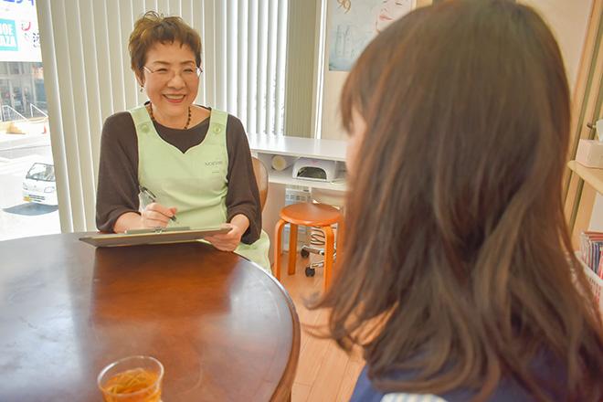 シンアオバ(ビューティーサロン sin aoba) 施術後の「満足感」を第一にヒアリング☆