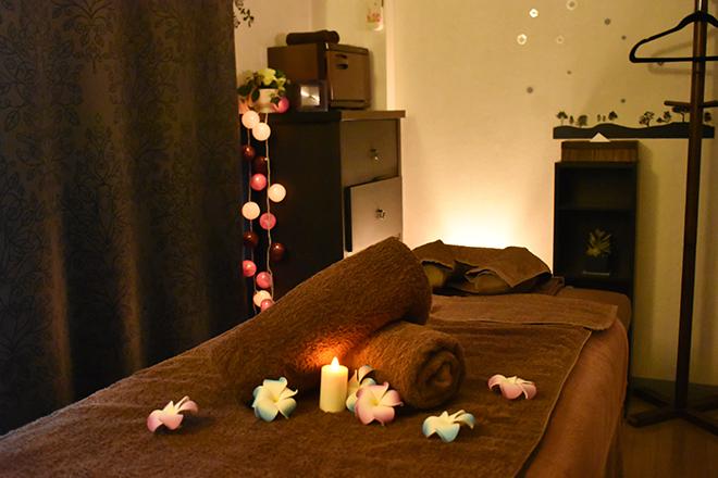 リアン(Private Relaxation Salon Lien) こだわりの照明のなか、癒しの時間へ