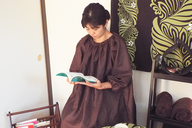 nayuca 「よもぎの葉」の蒸気で、お体を芯から温める