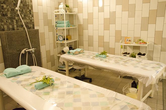 蘭々の湯 温浴施設と併設店となっております