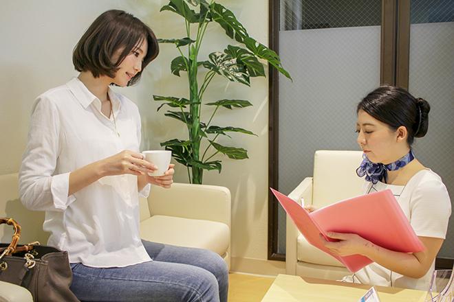 ストラッシュ 横浜アネックス店(STLASSH) 施術前は毛周期なども含め丁寧にヒアリング