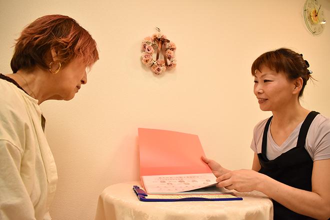 スーリール(痩身サロン sourire.) オーダーメイド感覚の施術が当サロンの特徴です