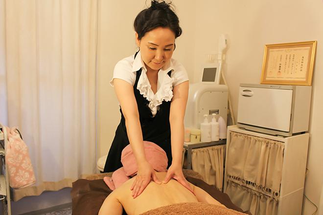 ジル アーチ(JILL AURCH) 筋肉のこわばりをほぐす心地よい施術