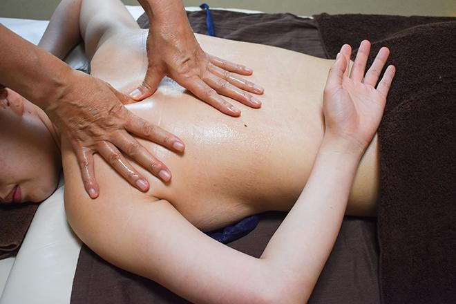 エクリュ(エステティックサロン ECRU) 辛い肩甲骨周りをしっかり施術