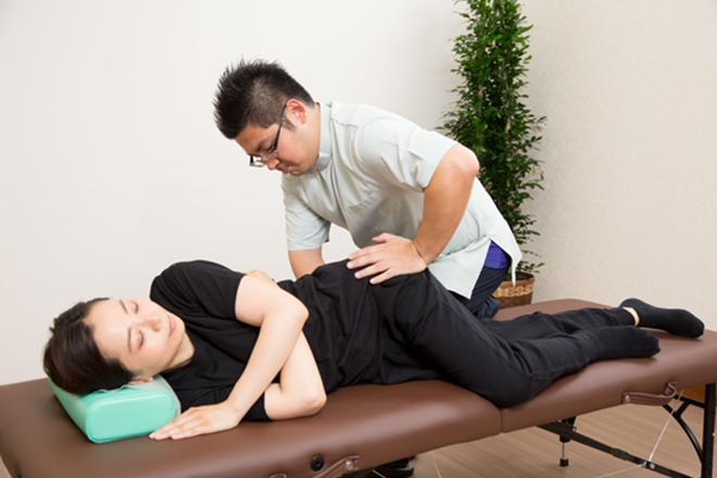 サルビア 揉み・骨格調整・ストレッチで身体をサポート