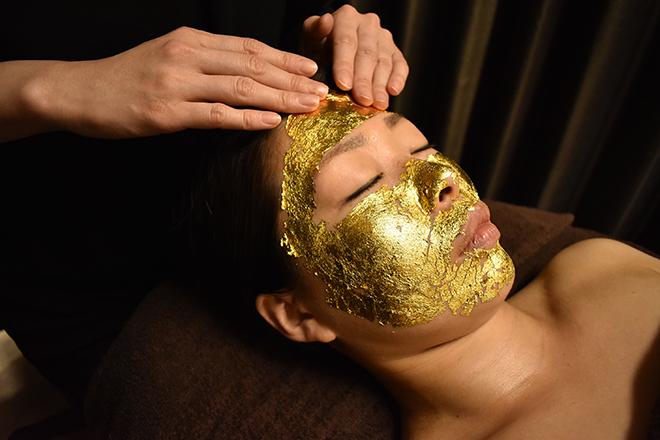 リーベ 三宮店 「純金箔」でちょっぴり贅沢体験