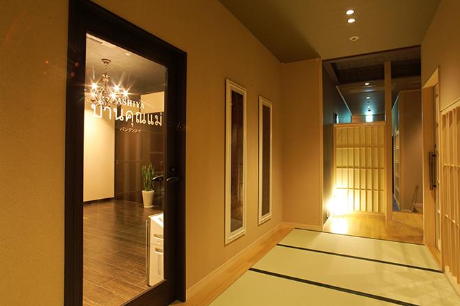 バンクンメイ 神戸ベイシェラトン店 タイリゾートと、清潔感を兼ね備えた空間