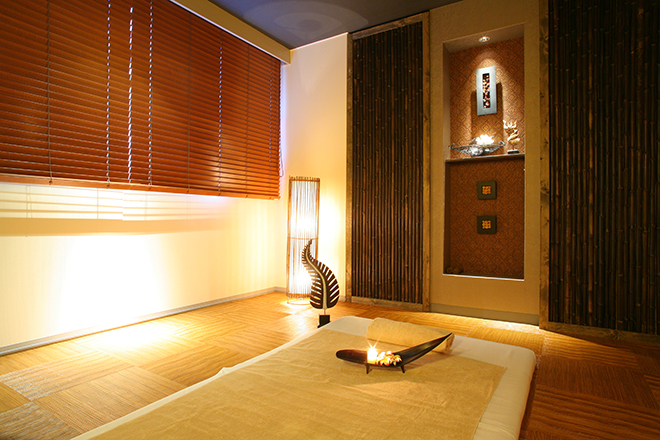 バンクンメイ 淡路夢泉景店 ホテルの中にあるリラクゼーションサロンです