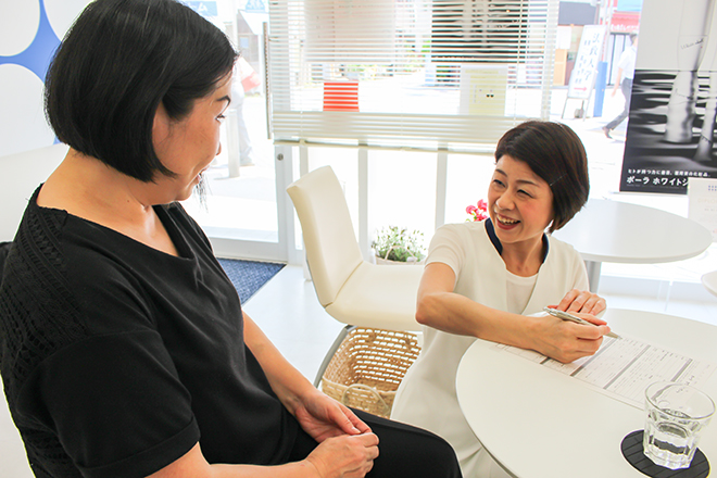 ポーラ ザ ビューティ 武蔵小杉店 お客さまとのコミュニケーションを大切にします