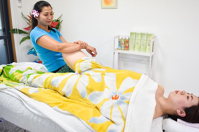 ぷめはな 股関節調整で関節の可動域を広げます