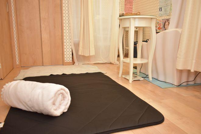 モミノキ(YOSApark MoMiの木) 疲れを癒す「YOSAマット」の上で施術します