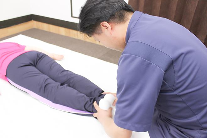 施術に向けて 【身体の歪みチェック】