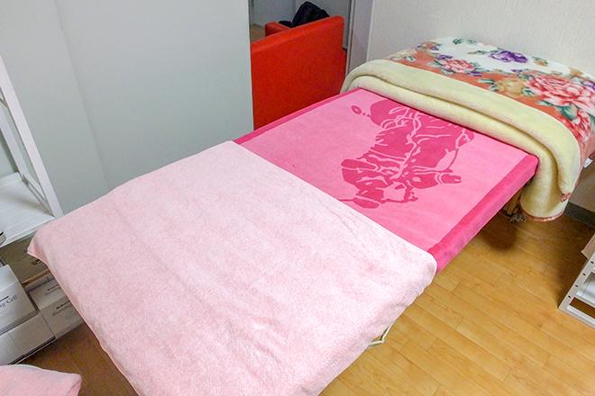 ミニー(Chiropractic Therapy Minnie) こだわりのベッドで調整を行います