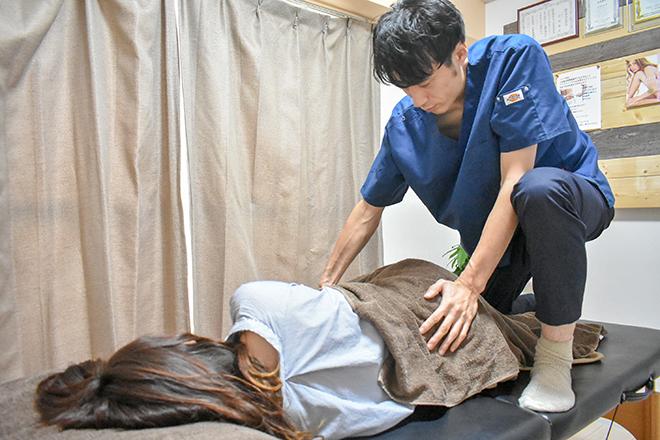 コード(ボディケアサロン CODE) 「筋膜セラピー」コースも人気です