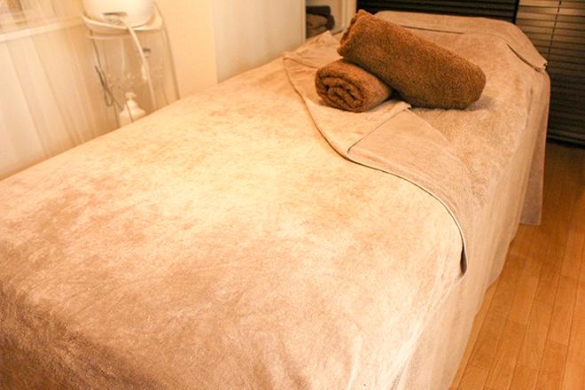 joyeux beaute やわらかいマットと今治タオルが心地いいベッド