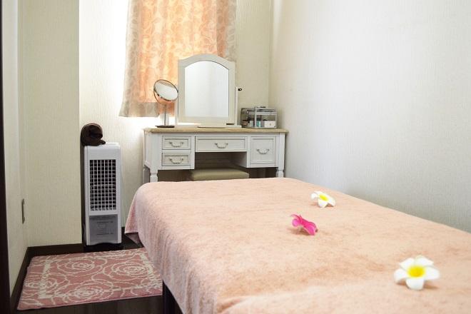 エステティックサロン ファルーカ 完全個室の施術ルームもあり