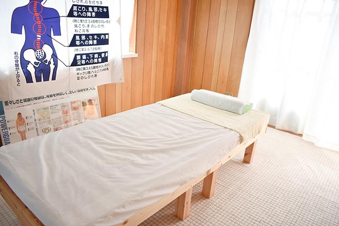 ピース(カイロプラクティック piece) お客様が施術を受けやすいベッドをご用意