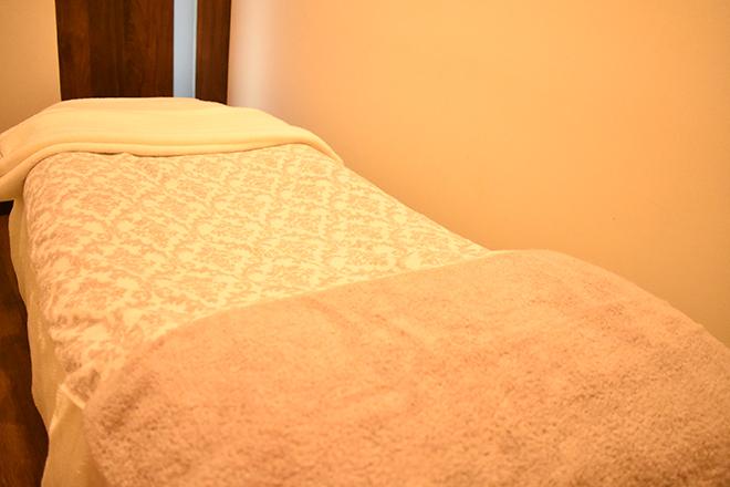 Rafellia 各メニューで変わる 施術ベッド