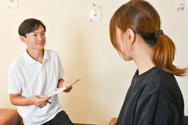 KARADA SUPPORT 藤沢駅前店 あなたのお悩みや生活習慣を教えてください