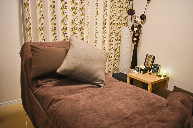 クランジェリ(ママトコサロン cullangeli) 幅広のゆったりと過ごせるベッド