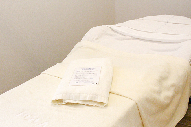 ポーラ エステイン 美宝 施術ベッドはこちらです♪