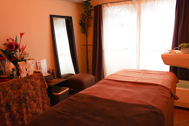 アンジュール 吉祥寺 施術スペースはプライベートな癒しの空間