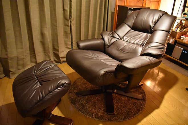 チェンジ(ヘッドスパサロン CHANGE) 座り心地の良いリクライニングチェア
