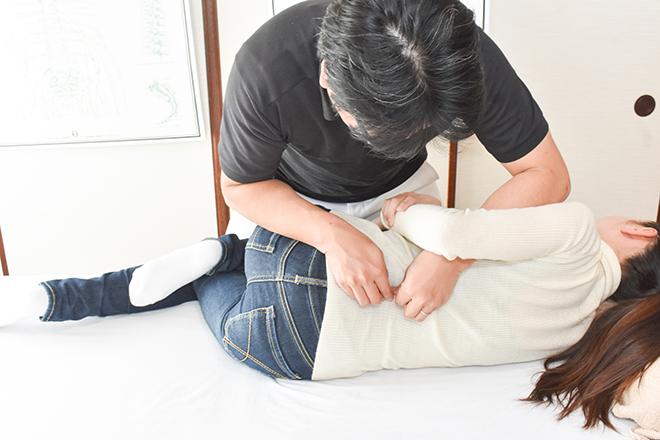 こてつ整体院 腰椎の調整