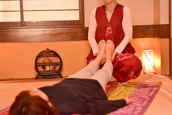 フーミャ(フーレセラピーFumya) 足全体をしっかりともみほぐします