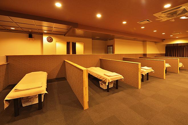 ラモアナ 梅田堂山店(lamoana) 安心の仕切りがある施術スペースです