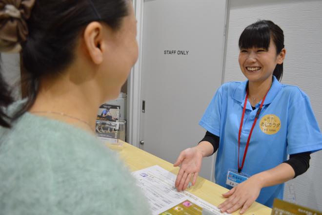 P・STRETCH&あしカラダ@松山中央通り店 施術前に施術内容のご説明をいたします!