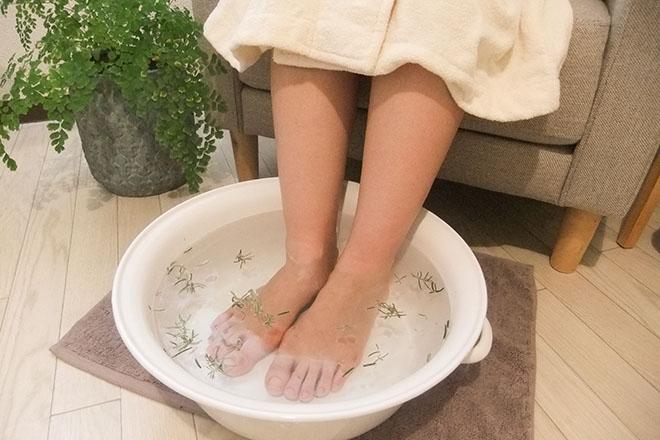 fuwattoshizuku 施述前の足浴でリラックス