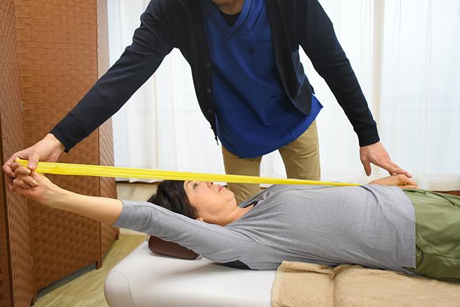 腰痛特化整体院 山本 トレーニングの要素を含む「ホームケア」
