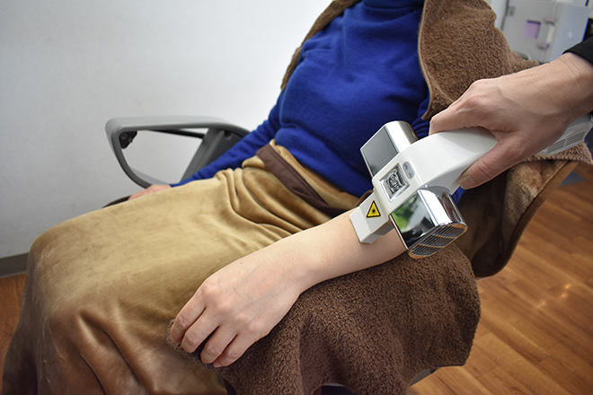リフェイス(Cure Spot ReFace) 刺激の少ない機械を使いきれいに脱毛します