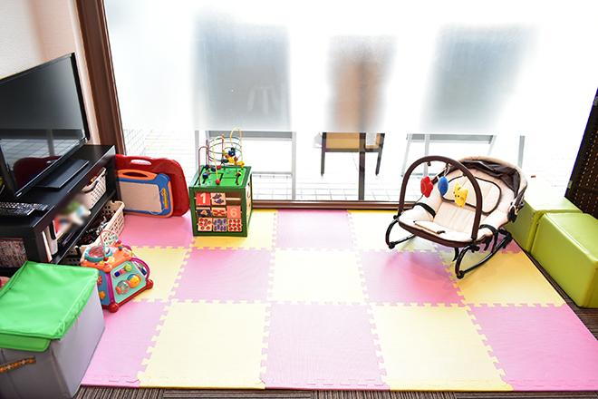 アズビューティ おもちゃやバウンサーをご用意しました!