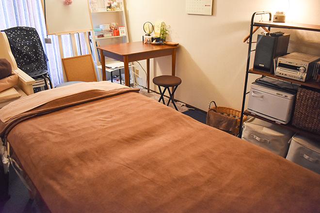 Lu soi 施術を受けながら眠りに誘われる施術台