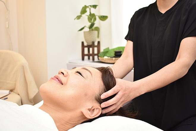 Hanaemi 心地の良いヘッドの施術