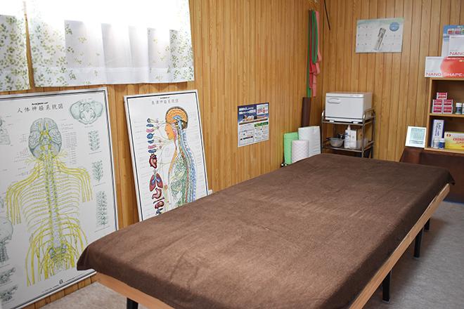 リエット 出雲店(Lie'to) 施術スペースでは、姿勢調整専用のマットを使用