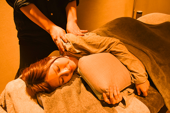 tokoshie relaxation spa どんな体制でも対応できるボディケア