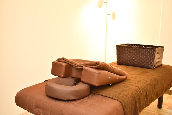COCOLUANA お体への負担が少ない「ベッド」を使用♪