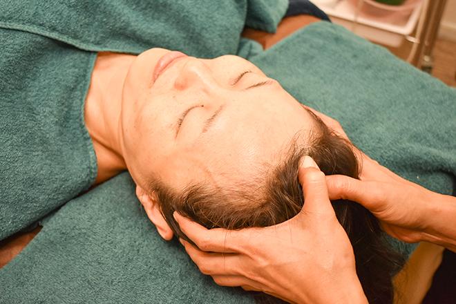 ラカン(Lacan beauty & skin) ヘッドスパで頭の筋肉にアプローチ