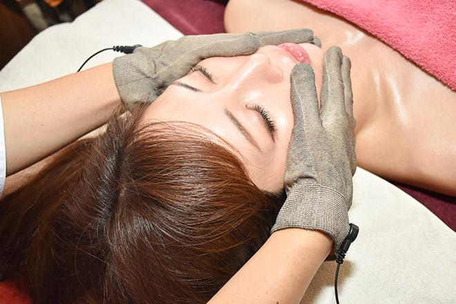 ハナ(aroma&esthetic HANA*) こわばった筋肉をほぐします