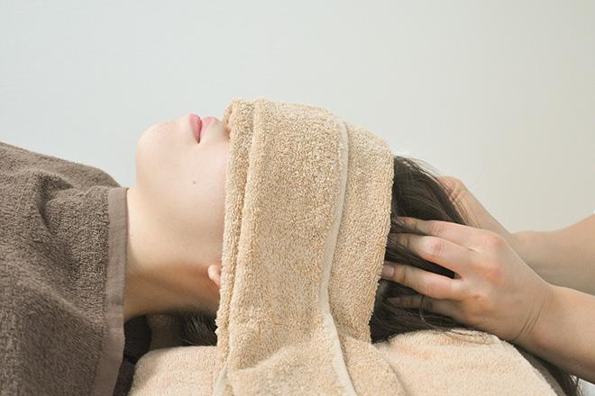 タオ(salon TAO) 脳休ヘッドケアもついて全身くまなくケア