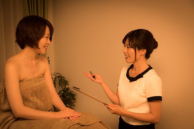 令和リラク&エステ 渋谷店 理想の姿、お悩みなどゴールを明確に♪