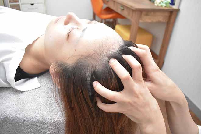福福 頭皮へのアプローチで疲れもスッキリ!