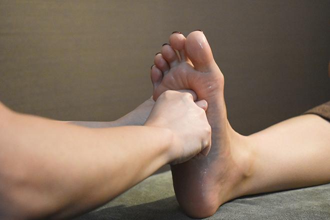 Drほぐれ 東岡山店 足の冷えを癒し、ふくらはぎの張りもスッキリ