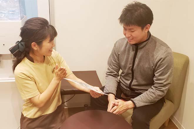 リラク 姪浜駅南口店(Re.Ra.Ku) お身体の状態をヒアリング☆
