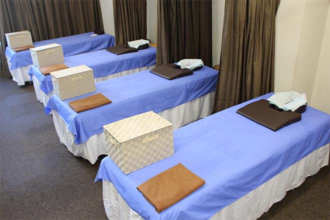 ほぐし専科 向ヶ丘遊園店 整体用のベッドを使っております