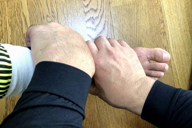 整体院 やわらぎ 施術家の3%しか扱わない足首から調整