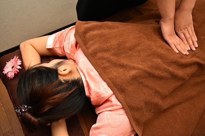 健楽園 男女OKの定番メニュー♪ 肩・腰のお疲れに